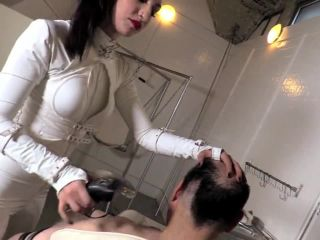Domnation  Mistress Cybill Troy  Stripped And Shaved  Extreme Domination - Kink Gangbang Bdsm on feet public foot fetish