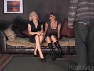 Porn online FemmeFataleFilms – Sorry Balls – Complete Film  Starring Miss Miranda & Mistress Eleise de Lacy femdom