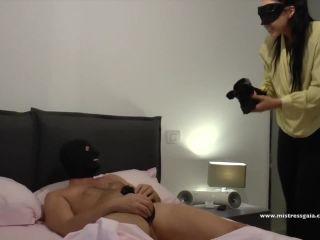 MISTRESS GAIA – SORRY MOM, femdom orgasm on femdom porn
