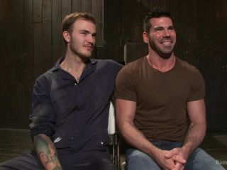 Muscle captive submits to the hands of Mr Wilde - Kink  February 12, 2015