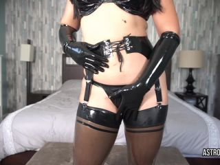 ManyVids presents AstroDomina in TEASED TO OBLIVION LATEX EDGE PLAY JOI $13.99