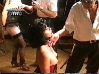 Slave Girl Suspended