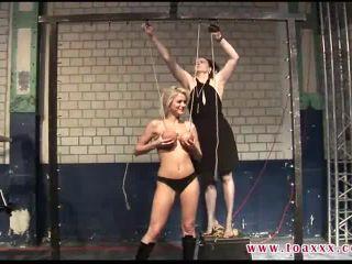 bdsm hard slave public bdsm porn   Breasts In Pain – Emily Addison, Claire Adams   bdsm