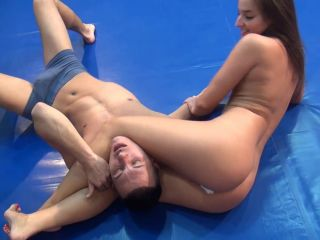 Ultimate Mixed Wrestling - Amira - Exhausted Man(hood) on femdom porn sarah vandella femdom