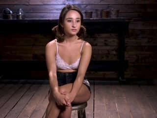Hogtied presents Isabella Nice in Young and Petite Slut in Grueling Bondage and Tormented