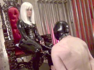 DomNation – HUMAN PREY BELOW MY MERCILESS FEET. Starring Lady Cecelie on fetish porn doll fetish