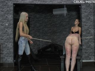 Porn online [Femdom 2018] CRUEL MISTRESSES – Jumping canes. Starring Mistress Ariel and Mistress Amanda [Caning, Cane, Canes, Cannning] femdom