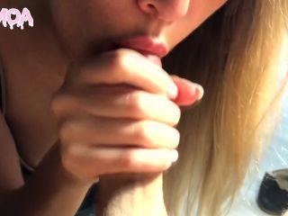 Porn online RoyMoa - Close up Throbbing Oral Creampie