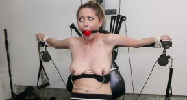 Chastity Babes - Chrissy Caught In Self Bondage