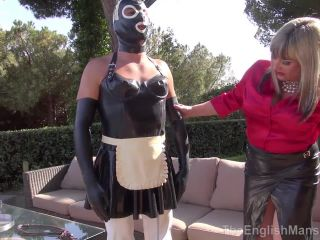 Female Domination – The English Mansion – A Maid in the Sun – Part 1-3 – Lady Nina and Mistress Sidonia