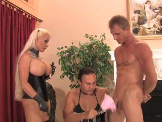 CD - 2010-10-04 - Training the sissy maid, part 2 - Holly Halston - 091910sissymaidp2