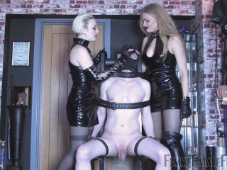 Smothering – FemmeFataleFilms – Slave For Spit – Complete Film – Goddess Dommelia and Mistress Petite