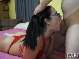 ManyVids Webcams Video presents Girl LJFOREPLAY in Pigtailed Slut Gets Face Fucked