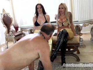 Humiliation – THE MEAN GIRLS – Feet At The End Of The Day – Goddess Nina and Goddess Harley