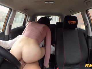 FakeDrivingSchool presents Susy Blue – Huge facial for Spanish eyes – 04.03.2019