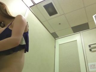 Big Tit Teen in Changing Room