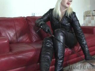 Femme Fatale Films  Leather Clad Smother  Part 3. Starring Divine Mistress Heather