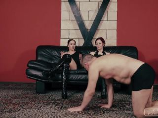 Face Slapping – CRUEL PUNISHMENTS – SEVERE FEMDOM – Slapped everywhere – Lady Anette and Lady Maggie