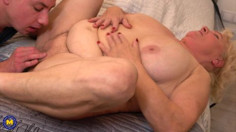 Lana C. - Naughty mature BBW doing younger men in her free time (1080p)