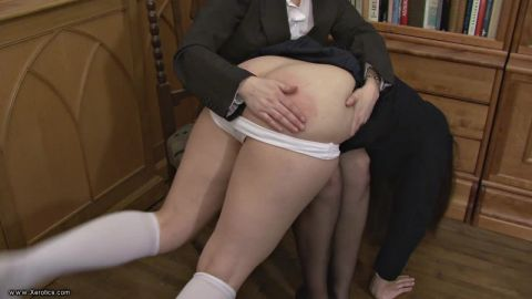 DESCRIPTION Helena is in Ms Woods office for bullying other girls in ...