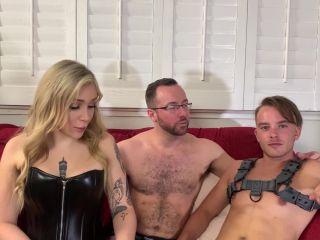 Kinky Bites – Angelina Please, Luke Hudson, Alex Hawk – Double-Dom Delight