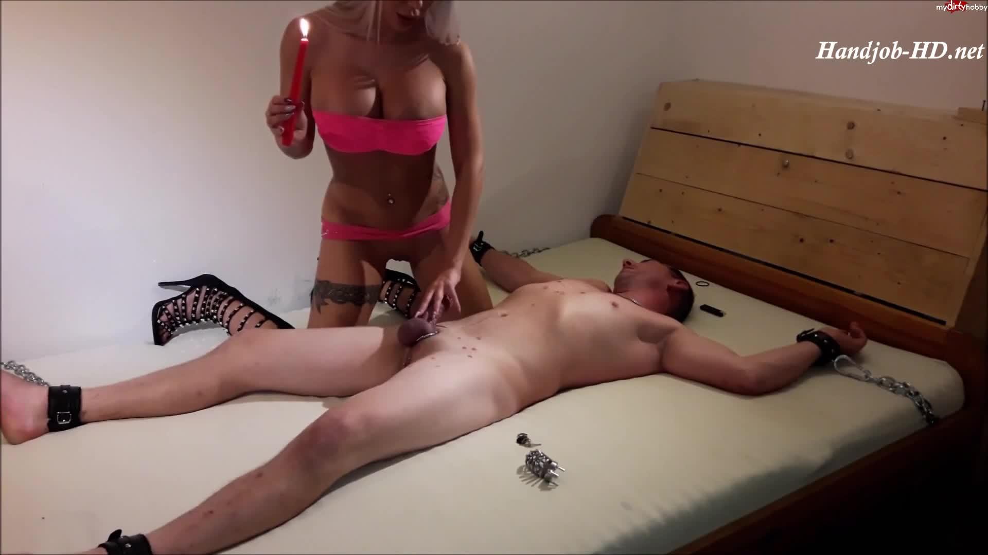 Handjob Shemale Post Orgasmus Redhead Shemale