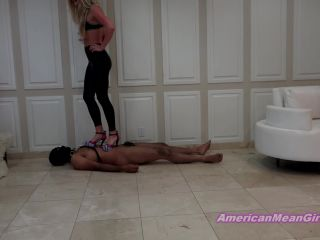 Blondes – THE MEAN GIRLS – Trample Tensile Test – Princess Ashley