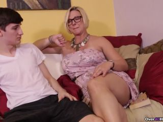 Over40Handjobs presents Goddess Brianna in Archie Gets Milked By Step Mom Brianna