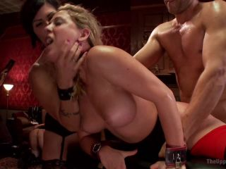 Cock Service by Two Hot MILF Slaves - Kink  September 19, 2014