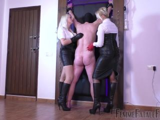 Porn online Leather Gloves – Femme Fatale Films – Dance To The Whip – Part 1 – Divine Mistress Heather and Mistress Johanna