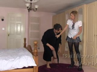 Femdom – Ballbusting World – Cute Bug Deadly – Miss Sarah Jessica