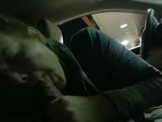 Blowjob in Drive Thru Before 3some
