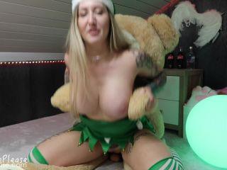 Elouise Please - Naughty Elf Teddy Bear Fuck
