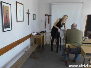 Detention bell discipline by Miss Kenworthy