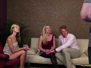 Blowjob – Pure CFNM – Meeting The Parents – Gina Gerson and Holly Kiss