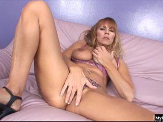 Nicole moore is a mature blonde milf