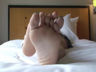 Asian candy toes foot