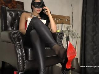 Mistress Gaia – Balls Experiment (720 HD) – Ballbusting – Ball Abuse, Female Domination, femdom queening on femdom porn