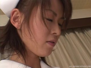 Awesome Naughty Asian nurse Ai Himeno and horny female patient in lesbian action Video Online