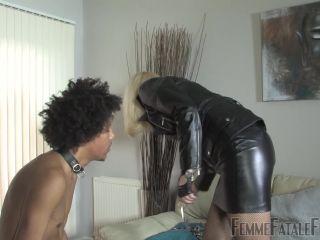 Nipple Torment – Femme Fatale Films – Akella's Pain Slave – Complete Film – Mistress Akella