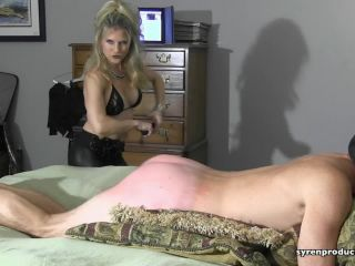 Leather – Mistress Aleana's Queendom – Unmerciful Thrashing Of A Silly Slave Part 2