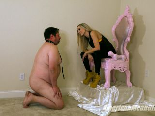 Footdom – The Mean Girls – You WILL Stand For Spiked Ballbusting – Goddess Platinum