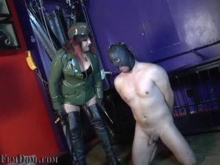 Humiliation – Fascist FemDom – Choke on Victory Pt. 1: Cocksucking w_ Simone, Eden & Tangent