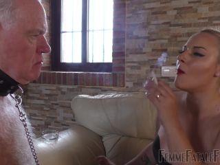 Femmefatalefilms – Mistress Fox – My Smoke In Your Face – Super HD