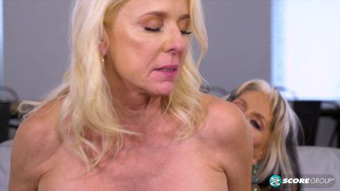 Cammille Austin, Chery Leigh, Luna Azul, Mia Magnusson, Rita Daniels,, Sally D'Angelo - The First Ever Six Way Granny Orgy (1080p)
