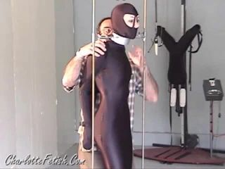 Dressed in latex Rubber Sluts