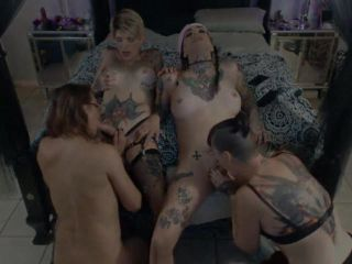 Transsexuals 4some –Trixxy, Kiersten, Kallie and Kaelyn blow jobs and ...