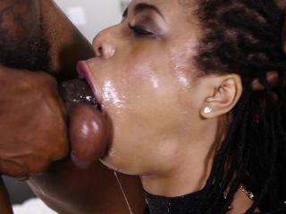 Ebony Throat Vs Monster Cock  2017-06-09