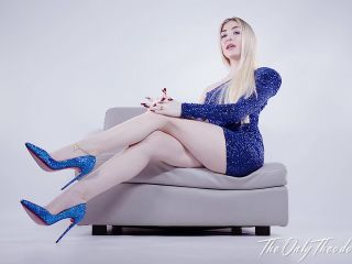 The Only Theodora - Louboutin Payslave Foot Fetish