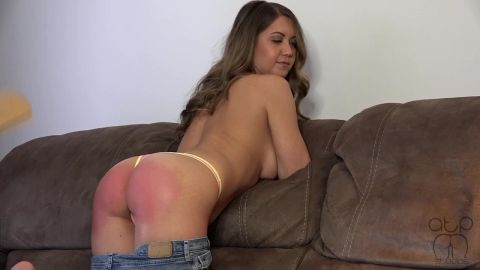 Chrissy Marie - Bare Bottom Paddling Chrissy Marie - Senior Ditch Day - 4 (720p)
